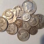 silver dimes quarters halves