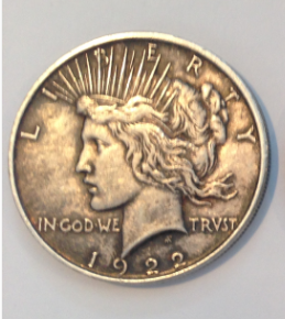 Peace dollars for sale